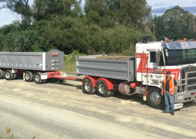Domett Steel Tipper Trailer