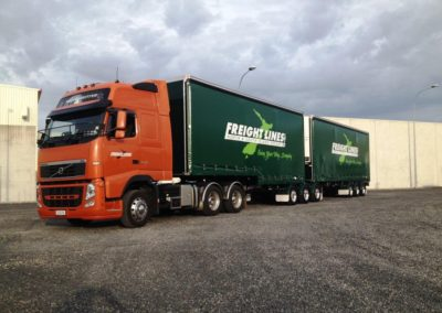 Domett Curtain Sider