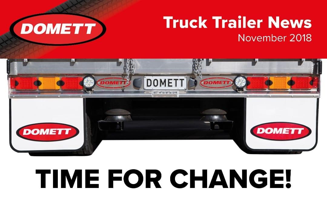 Truck Trailer News – November 2018