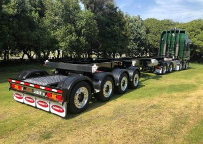 Domett Skeletal Trailers